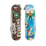 Швейцарски джобен нож Victorinox Classic LE 2020 Gone Fishing
