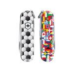 Швейцарски джобен нож Victorinox Classic LE 2020 World of Soccer