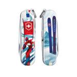 Швейцарски джобен нож Victorinox Classic LE 2020 Ski Race