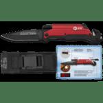 Тактически нож 19451 firestarter/Flashlight Red.9 K25