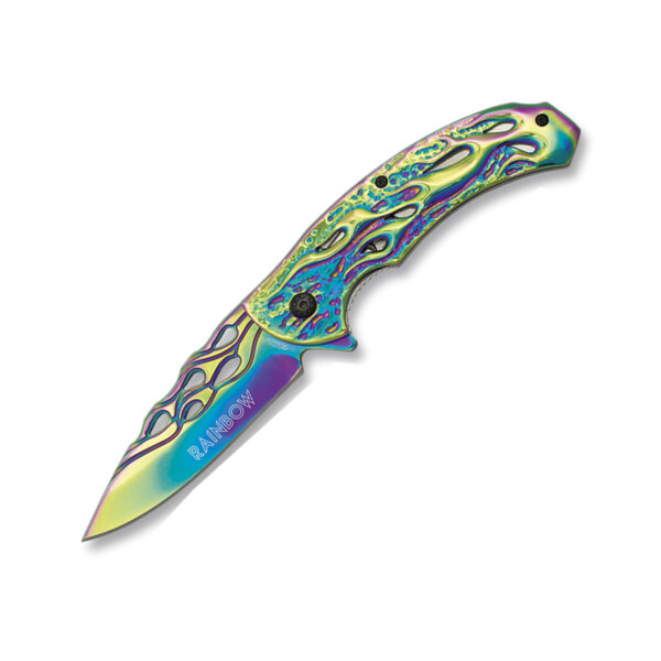 Сгъваем нож Martinez Albainox - Rainbow 18288-A, бързо отваряне