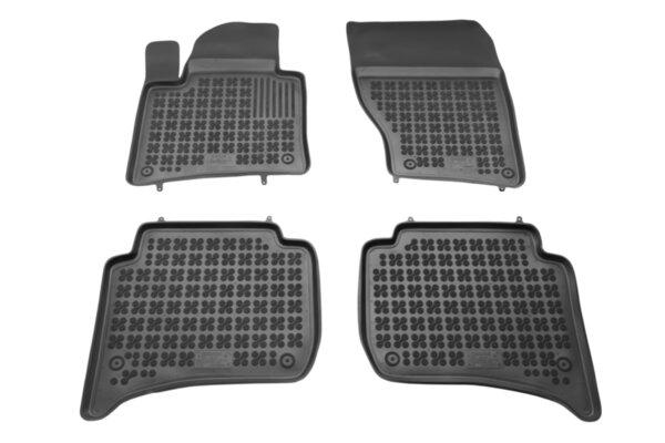 Гумени стелки с висок борд за VW Touareg модел от 2010 до 2019 година