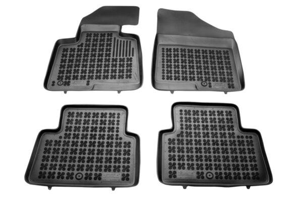Гумени стелки с висок борд за Hyundai Santa Fe модел от 2012 до 2019 година