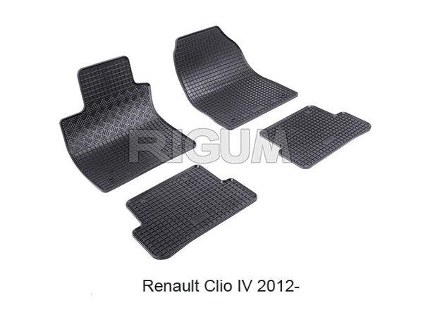 Гумени стелки за Renault Clio 4  модел от 2012 година