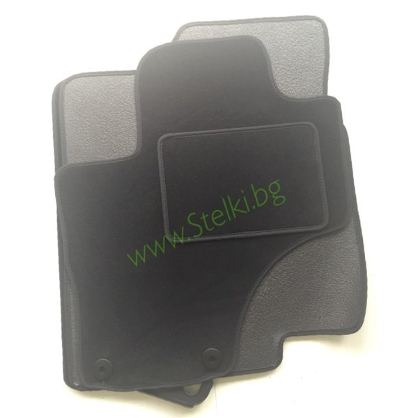 Велурени мокетни стелки за HYUNDAI IX55 ( материал FABA )