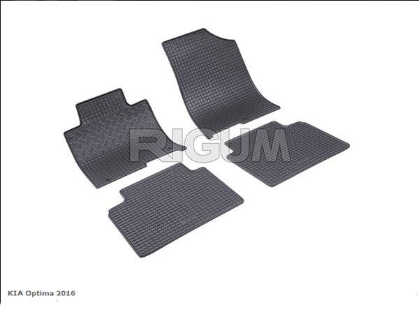 Гумени стелки за Kia Optima модел от 2016 година