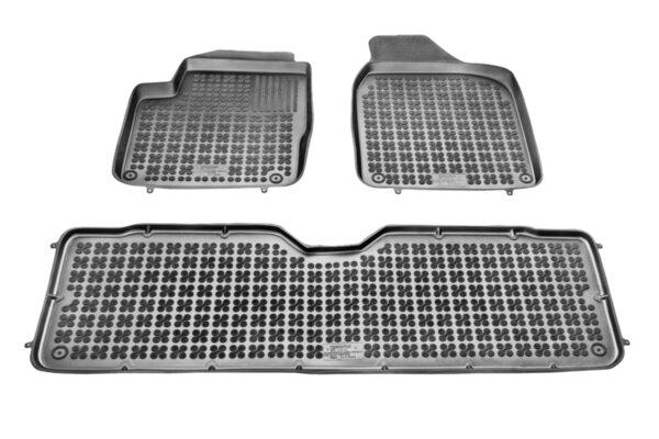 Гумени стелки с Висок борд за Ford Galaxy 1995-2006, Seat Alhamra 1996-2010, VW Sharan 1995-2010 година