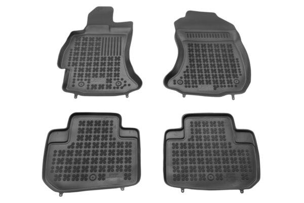 Гумени стелки с висок борд за Subaru Forester от 2013 до 2020 година
