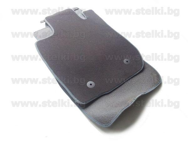 Стелки от мокет за Dacia Duster модел 2010 до 2013 година - Тъмно сиви