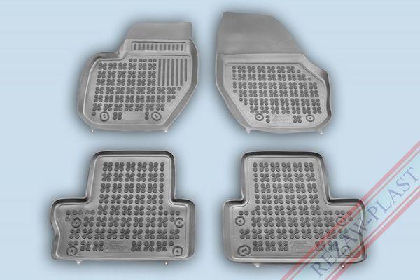 Гумени стелки за VOLVO XC60 ( ВИСОК БОРД ) - СИВИ