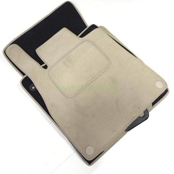 Мокетни стелки ( БЕЖОВИ ) за S-Klasse W222 L ( ДЪЛГА база) модел след 2013 година ( първокласен материал EVEREST )