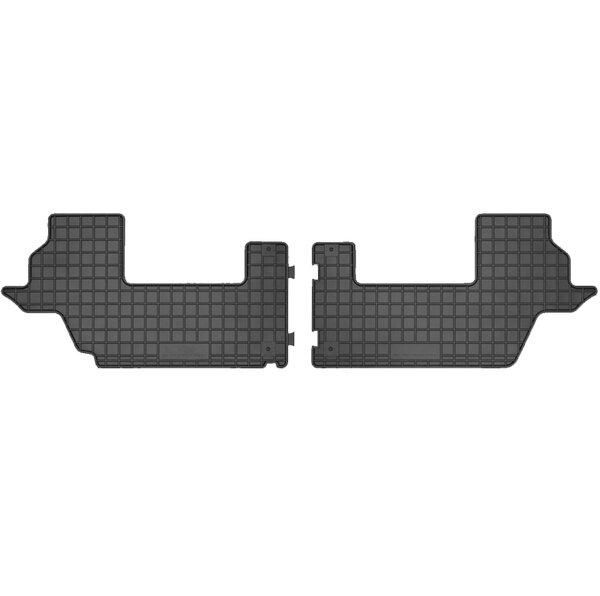 Стелки гумени за Kia Carens модел от 2013 година  (3-ти ред)