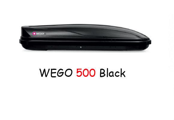 Автобокс Modula WeGo 500 Черен гланц