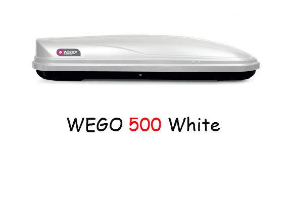 Автобокс Modula WeGo 500 Бял гланц