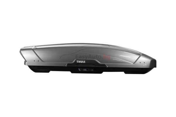 Автобокс Thule Motion XT M 400 литра - Сив Титан гланц