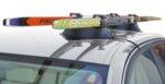 Магнитен багажник Fabbri Elisse за 2 чифта ски
