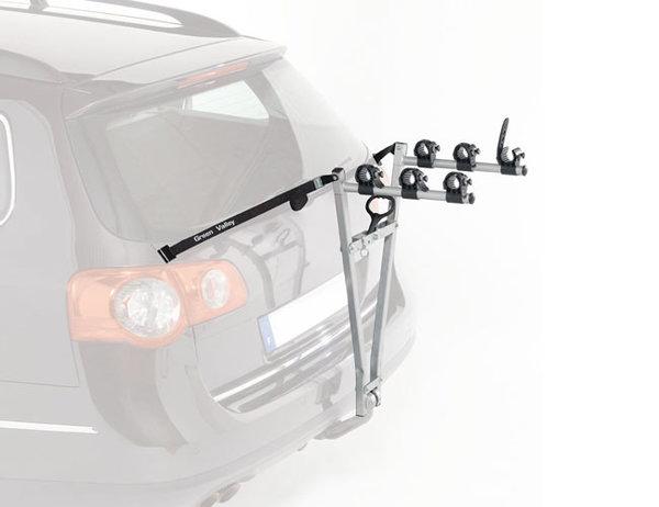 ADVENTURE 610 - Багажник за 3 велосипеда с монтаж на теглич