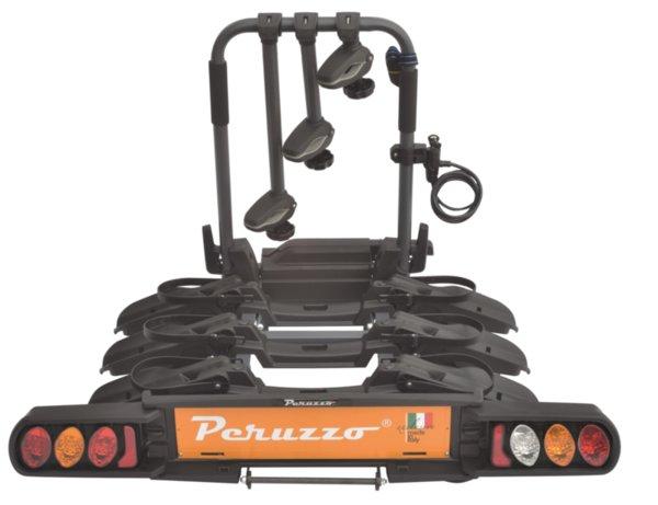 Багажник за теглич Peruzzo Pure Instinct 3 - за 3 велосипеда