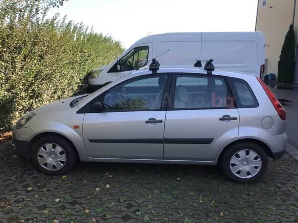 Алуминиеви греди EVOS ALUMIA за Ford Fiesta 2002 до 2008 година с 5 врати