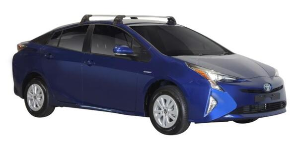 Напречни греди за Toyota Prius Plug-in модел от 2017 година и нагоре - Yakima Flush сиви