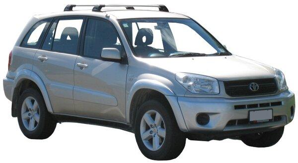 Напречни греди за Toyota Rav4 2000-2005 модел без надлъжни греди - Yakima Flush черни
