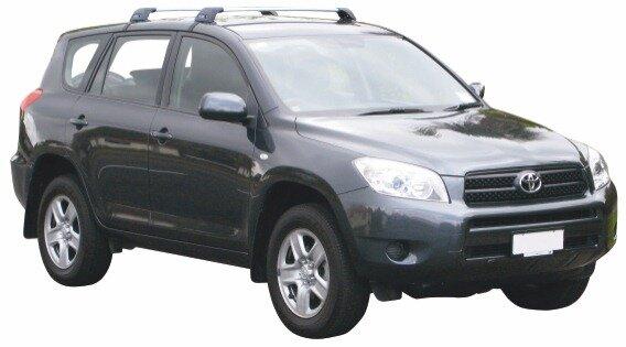 Напречни греди за Toyota Rav 4 2006-2012 година без надлъжни греди- Yakima Flush сиви