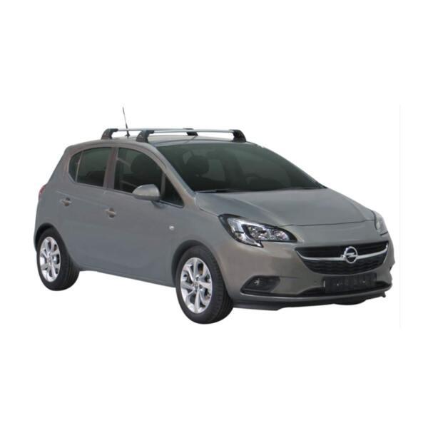 Напречни греди за Opel Corsa E 2015-2019 година - Yakima Flush Сиви