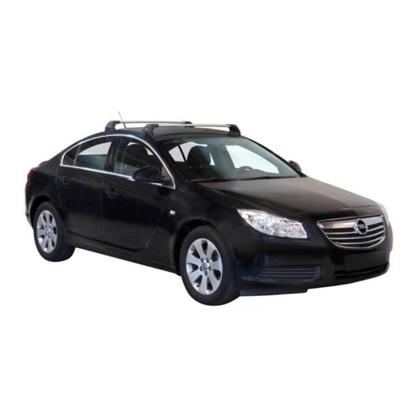 Напречни греди за Opel Insignia 2009-2017 година Седан с 4 врати - Yakima Flush сиви