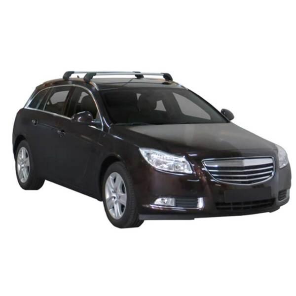 Сиви Yakima Flush греди за Opel Insignia Sport tourer от 2009 до 2017 година