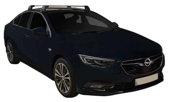 Черни Yakima Flush греди за Opel Insignia Grand Sport след 2017 година