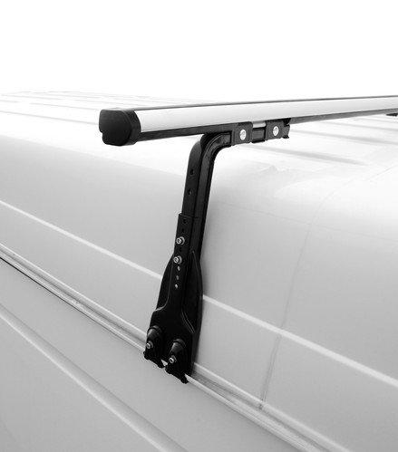 Алуминиеви греди Nordrive Kargo Plus за монтаж върху водобрани MERCEDES G-Class (W463) 89->2019 - N30310+N10040x1