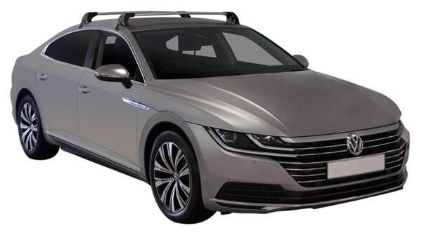 Yakima Flush греди за VW Arteon - Черни