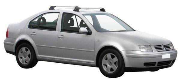 Yakima Flush греди за VW Bora sedan - Черни