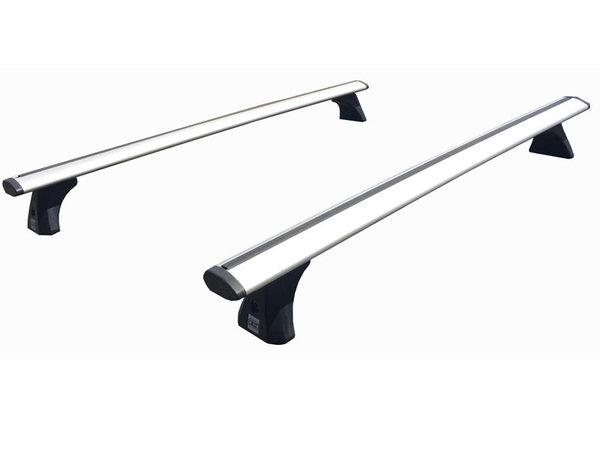 Аеродинамични алуминиеви греди Cruz Airo T за VW Golf 5 и Golf 6 Хечбек с 3 или 5 врати