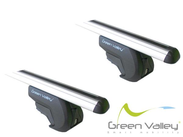 TREK CC - Аеродинамични Алуминиеви греди за модели с надлъжни греди - 156626+KIT405