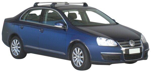 Yakima Flush греди за VW Jetta модел 2005 до 2011 година- Черни