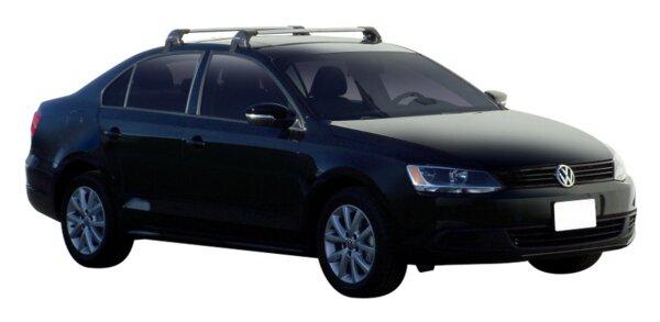 Yakima Flush греди за VW Jetta от 2011 година и нагоре - Черни
