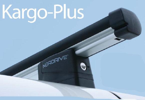 Алуминиеви греди Nordrive Kargo Plus за Citroen Nemo, Fiat Fiorino, Peugeot Bipper - N30182+N10040x2