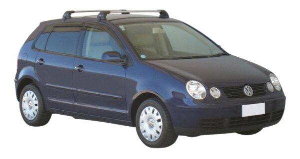 Аеродинамични греди Yakima Flush за VW Polo 2001-2009 с 5 врати - Черни