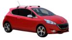 Yakima Flush греди за Peugeot 208 (модел с 3 врати) S25Y+K967