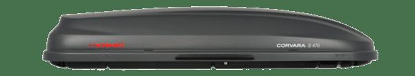Автобокс Corvara s475 - Сив Карбон мат