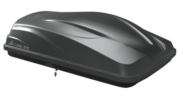 Автобокс LevUp Cube 370 - черен мат