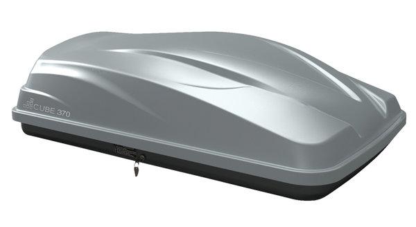 Автобокс LevUp Cube 370 - Сив мат
