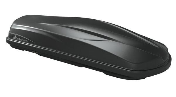 Автобокс LevUp Cube 470 - черен мат