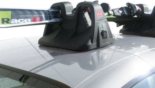 Магнитен багажник Fabbri Sko за 2 чифта ски