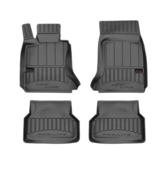 3D Гумени стелки за BMW 5-та Серия E60 и Е61 от 2003 до 2009 година