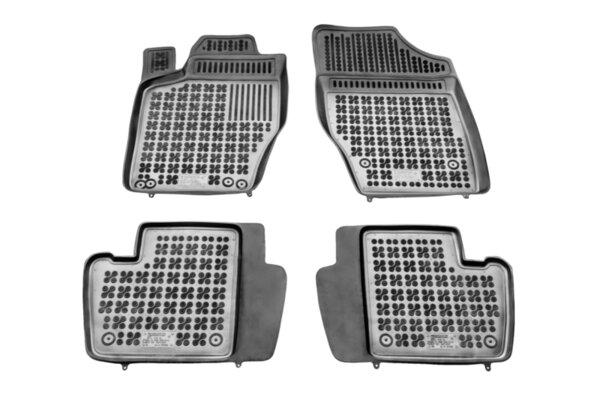 Гумени стелки с висок борд за Citroen C4 от 2004 до 2010 година