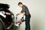 Yakima Fold Click 3 - Багажник за 3 велосипедa - монтаж на теглич