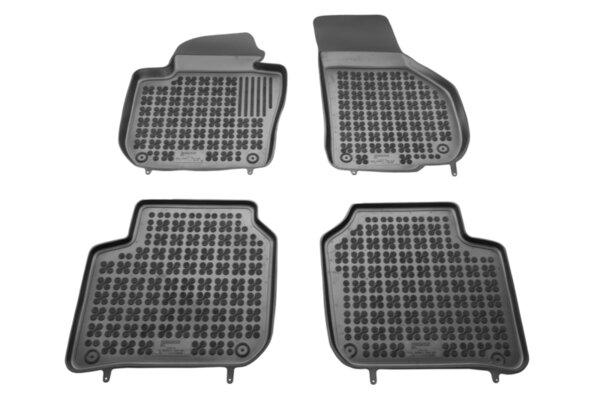 Гумени стелки с висок борд за Skoda Superb 2 модел от 2008 до 2015 година