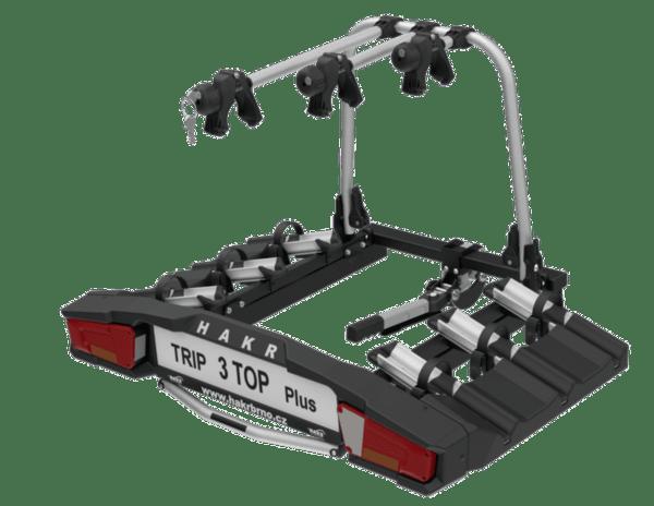 Багажник за теглич HAKR TRIP 3 TOP PLUS за 3 велосипеда